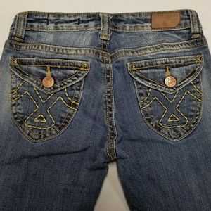 Women's Jeans Vigoss Low Rise Flare Size 3 Flaps!
